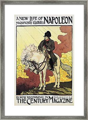 Life Of Napoleon Framed Print