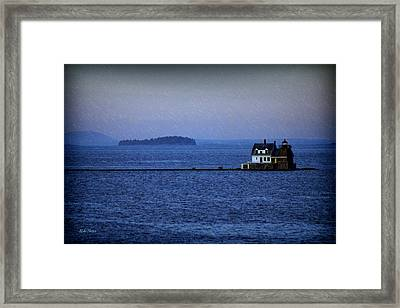 Life Of Solitude Framed Print