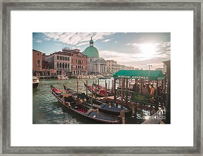Life Of Venice - Italy Framed Print