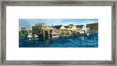 Life On The Water II Framed Print