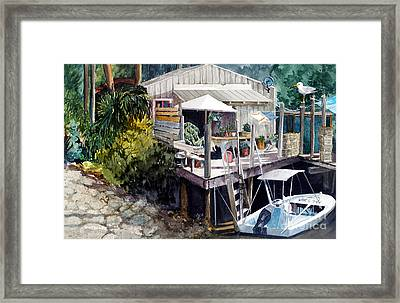 Life On The Water IIi Framed Print