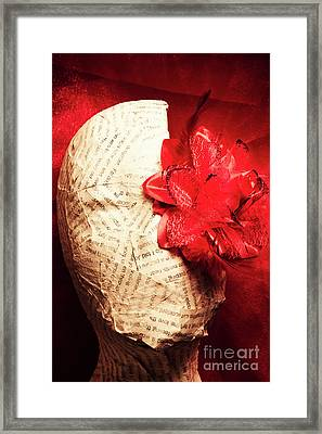 Life Review In Death Framed Print