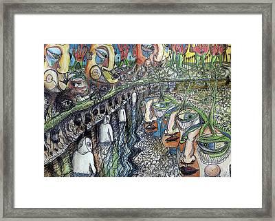 Life Framed Print by Robert Wolverton Jr