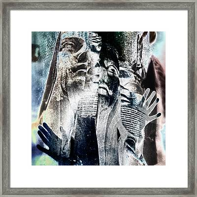 Life Shrinks Or Expands In Proportion To The Courage  Framed Print by Danica Radman