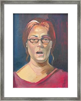 Life Study 2 Framed Print by Julie Orsini Shakher