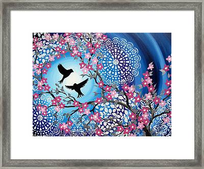 Life Together Framed Print by Cathy Jacobs