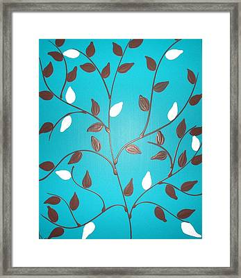Life Tree Framed Print by Debra Ryan