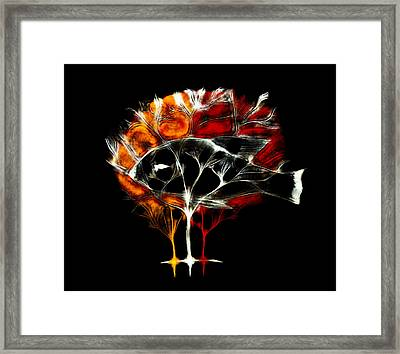 Life Tree Framed Print by Lilianna Hakhverdyan