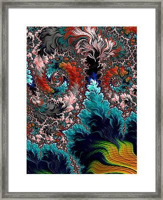Life Underwater Framed Print