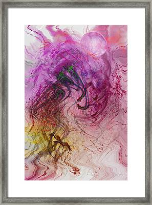 Life Vibrations Framed Print