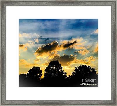 Life With Out Words Framed Print