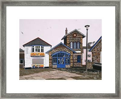 Lifeboat Station Framed Print