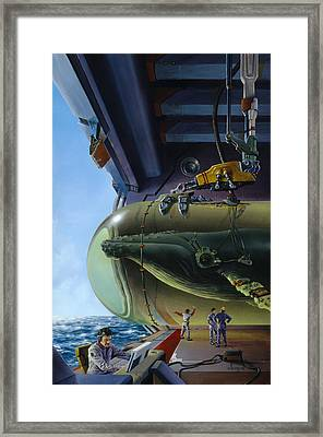 Lifeforce Framed Print by Richard Hescox