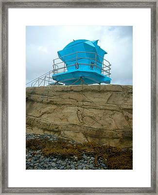 Lifeguard Lookout Framed Print