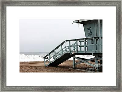 Lifeguard Number Ten Framed Print by John Rizzuto