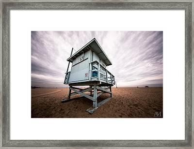 Lifeguard Stand Framed Print