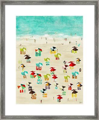 Lifes A Beach Framed Print