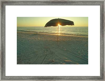 Life's A Beach Framed Print by Jerry McElroy