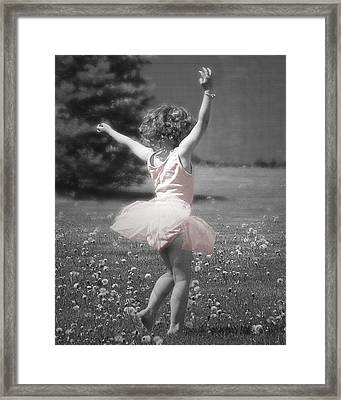 Life's A Dance Framed Print by Cindy Singleton