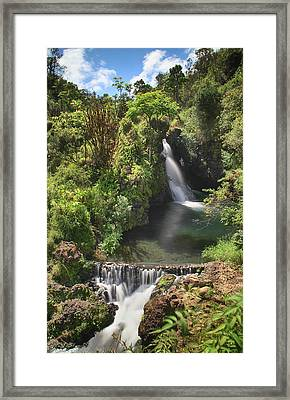 Life's Flow Framed Print