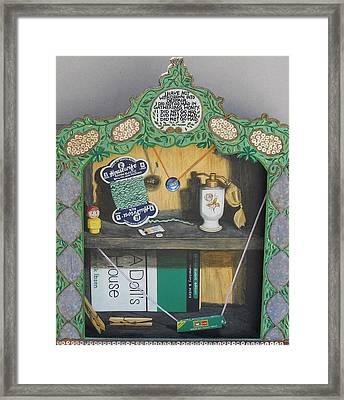 Life's House Framed Print