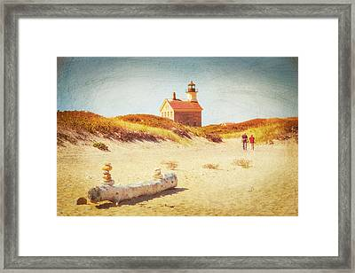Lifes Journey Framed Print