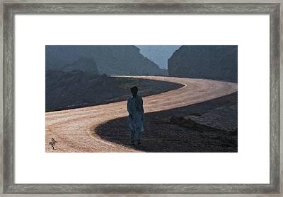 Life's S Curves Framed Print by Syed Muhammad Munir ul Haq