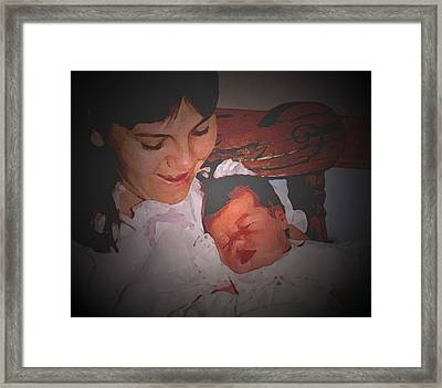 Lifespan 3 Framed Print