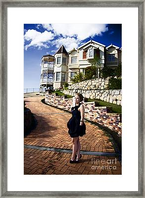 Lifestyle Of The Rich And Famous Framed Print
