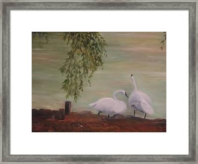 Lifetime Friends Framed Print by Betty Pimm