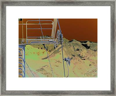 Lift 18 Framed Print by Peter  McIntosh