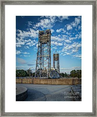 Lift Bridge Framed Print
