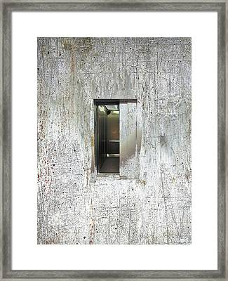 Lift Framed Print by Tony Rubino