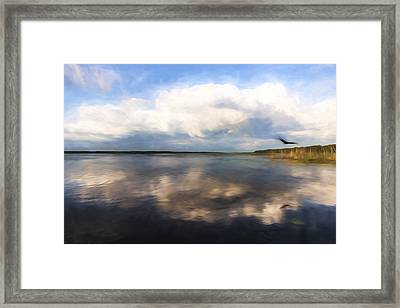 Lifting The Weight II Framed Print by Jon Glaser