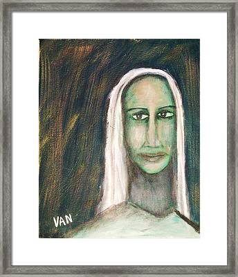 Ligeia Framed Print by Van Winslow