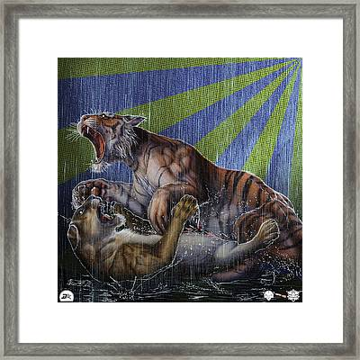 Liger  Release Framed Print by David Starr