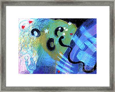 Light 3 Framed Print