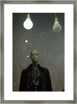 Light Above Me Framed Print by Jez C Self