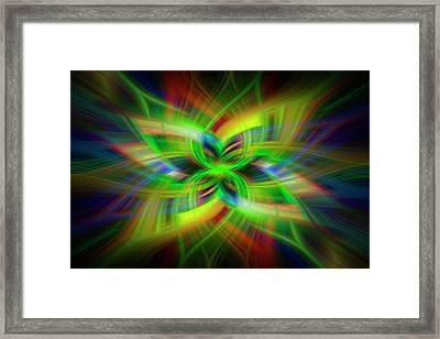 Light Abstract 1 Framed Print