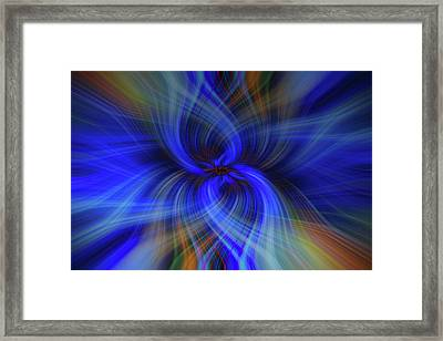Light Abstract 7 Framed Print