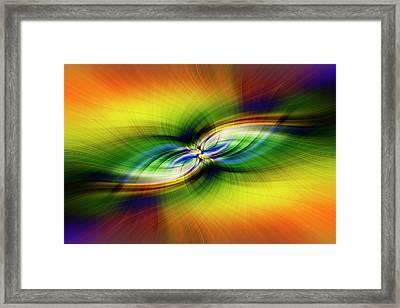 Light Abstract 9 Framed Print