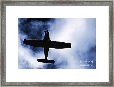 Framed Print featuring the photograph Light Aircraft by Craig B