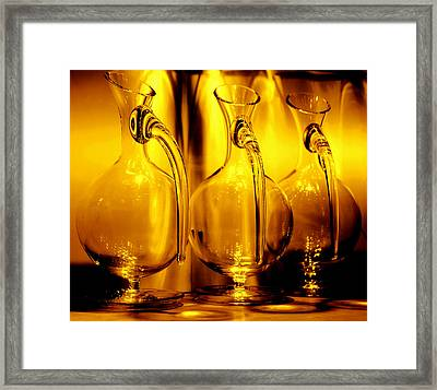 Light And Color Play II Framed Print by Jenny Rainbow