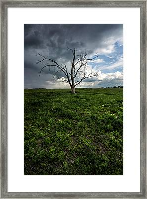 Light And Dark Framed Print by Aaron J Groen