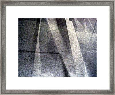Framed Print featuring the photograph Light And Dark by Lola Connelly