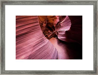 Framed Print featuring the photograph Light And Dark by Stephen Holst