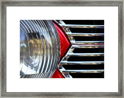 Light And Grill Framed Print by Dan Holm