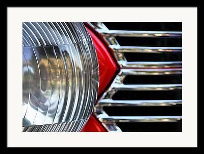 Car Detail Photographs Framed Prints