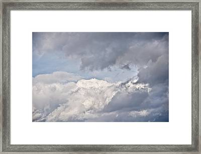Framed Print featuring the photograph Light And Heavy by Wanda Krack