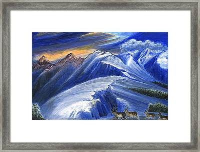 Light And Life 7 Framed Print by Zong Yi